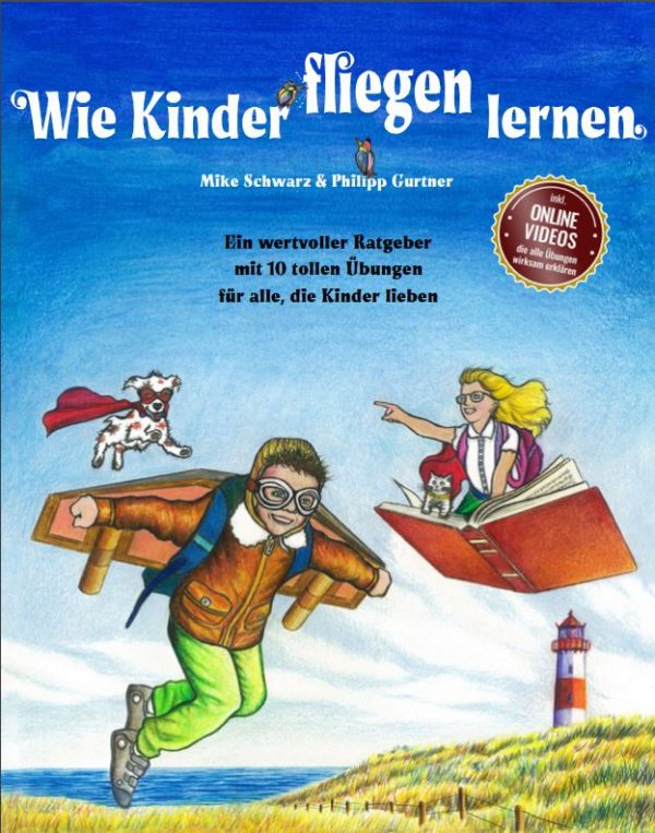 Buchcover Wie Kinder fliegen lernen